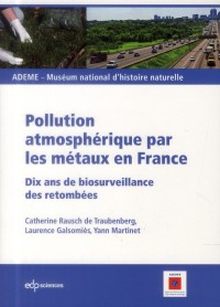Pollution Atmospherique par les Metaux France
