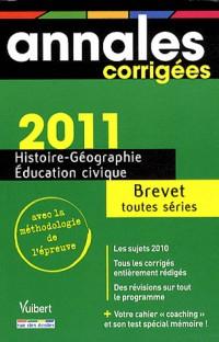Histoire-géographie-éducation civique Brevet toutes séries