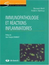 Immunopathologie et réactions inflammatoires