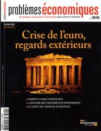 Crise de l'euro, regards extérieurs : Problèmes économiques