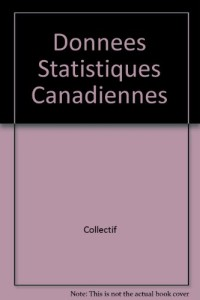 Donnees Statistiques Canadiennes