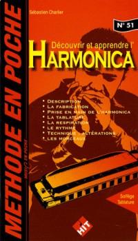Méthode en Poche : découvrir et apprendre l' harmonica (collection music en poche n° 51)