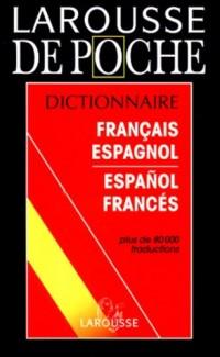 Larousse de poche français-espagnol et V.V.