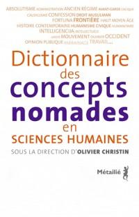 Dictionnaire des concepts nomades
