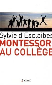 Montessori au College