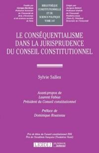 Le conséquentialisme dans la jurisprudence du conseil constitutionnel