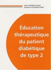 Education thérapeutique du diabétique de type 2