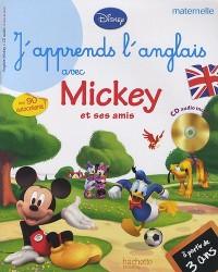 J'apprends l'anglais avec Mickey et ses amis (1CD audio)