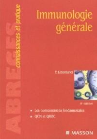 Immunologie générale