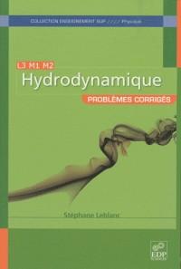 Hydrodynamique problèmes corrigés