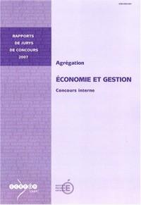 Agrégation, Economie et gestion : Concours interne