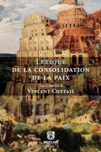 Lexique de la consolidation de la paix