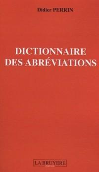 Dictionnaire des abréviations