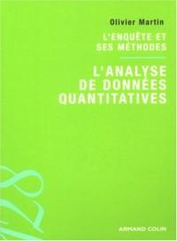 L'analyse de données quantitatives : L'enquête et ses méthodes
