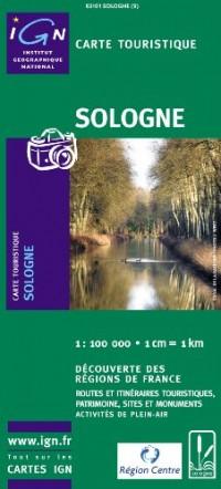 Carte routière : Sologne touristique