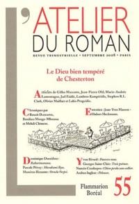 L'atelier du roman, N° 55 : Le dieu bien tempéré de Chesterton