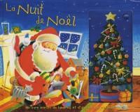 La Nuit de Noël : Un livre enrichi de lumières et d'une musique de Noël