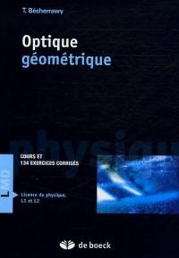 Optique géométrique : Cours et exercices corrigés