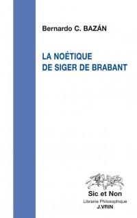 La noétique de Siger de Brabant