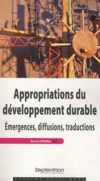 Appropriations du développement durable : Emergences, diffusions, traductions
