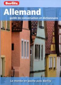 Allemand Guide de Conversation et Dictionnaire