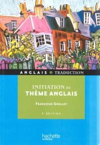 Initiation au Thème Anglais