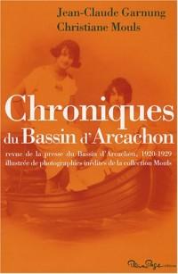 Chroniques du Bassin d'Arcachon : Revue de la presse du Bassin d'Arcachon, 1920-1929