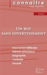 Fiche de lecture Un roi sans divertissement de Jean Giono (Analyse littéraire de référence et résumé complet)