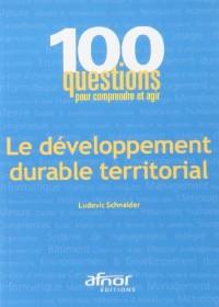 Le développement durable territorial