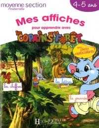 Mes affiches pour apprendre avec les Copains de la forêt : Moyenne section maternelle 4-5 ans