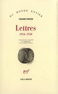 Lettres, 1924-1950