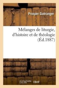 Melanges de Liturgie  ed 1887