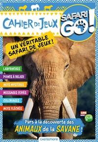 Cahier de jeux éléphant Safari Go !