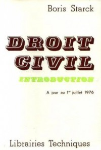 Droit civil.