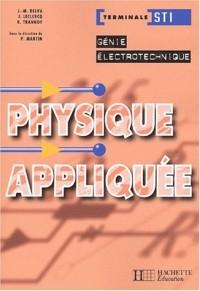 Physique appliquée, terminale STI Électrotechnique