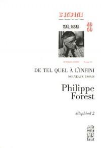 Allaphbed : Tome 2, De Tel Quel à L'Infini