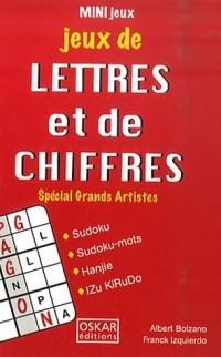Jeux de lettres et de chiffres : Spécial Grands Artistes
