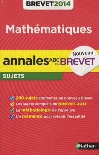 Annales Brevet 2014 Maths Non Cor N3