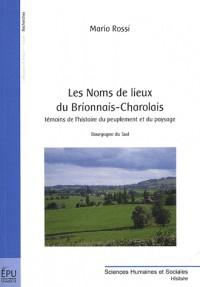 Les Noms de lieux du Brionnais-Charolais