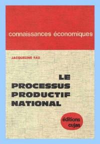 Le processus productif national