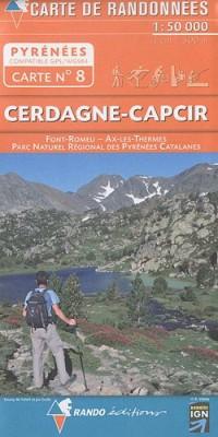 Cerdagne - Capcir : 1/50 000