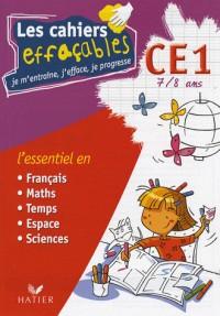Les cahiers effaçables CE1 : Je m'entraîne, j'efface, je progresse
