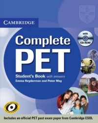 Complete PET Student's Book Pack (Student's Book with answers with CD-ROM and Audio CDs (2))