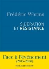 Sidération et résistance