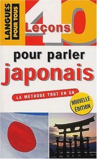 40 lecons pour parler japonais