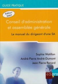 Le guide pratique du conseil d'administration et de l'assemblée générale