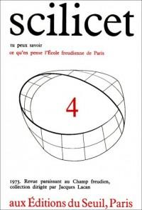 Scilicet, numéro 4