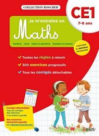 Boscher, je m'entraîne en maths CE1 2016