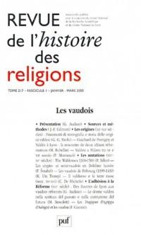 Revue d'histoire religieuse, numéro 1, tome 217, 2000
