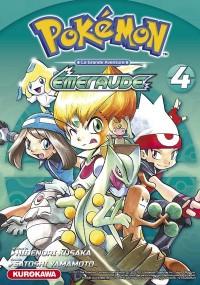 Pokémon rouge feu et vert feuille/emeraude - tome 4